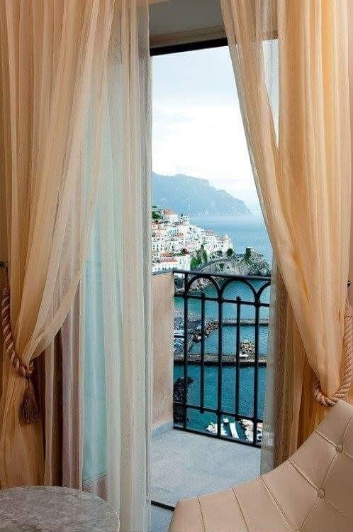 widok z hotelu como lake (2)