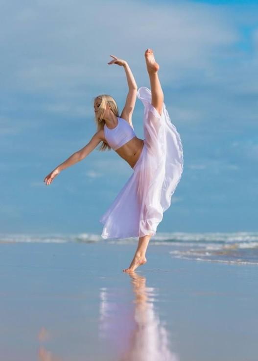 balet na brzegu