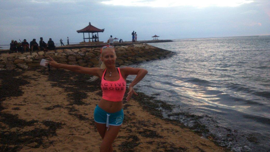 bieganie na plaży
